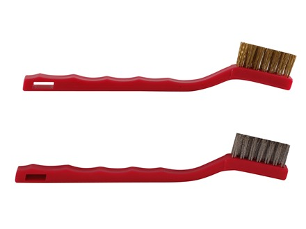 General Tool Gun Cleaning Brush Set 1 Brass, 1 Stainless Steel Package of 2
