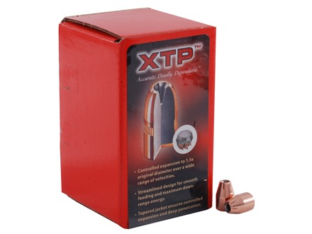 Hornady XTP Bullets 9mm (355 Diameter) 115 Grain Jacketed Hollow Point Box of 100
