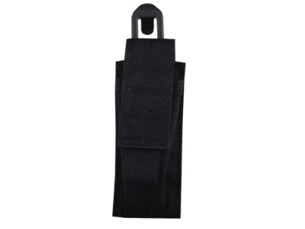 Blackhawk STRIKE Single Magazine Pouch Double Stack 9mm 40 S&W with Speed Clip Nylon Black