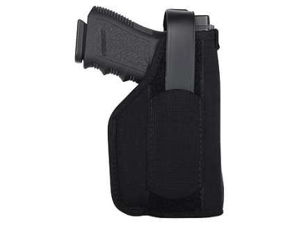 BlackHawk Hip Holster with Thumb Break Right Hand Large Frame Semi-Automatics with Viridian Laser Sight or X5L Nylon Black