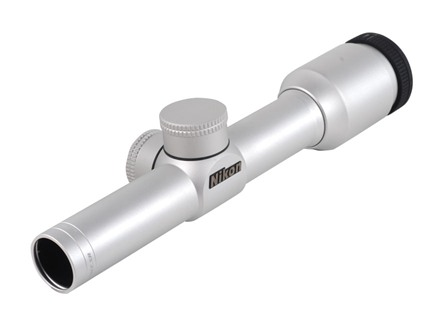 Nikon Force XR EER Pistol Scope 2x 20mm Nikoplex Reticle Silver