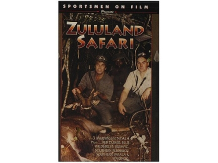 Sportsmen on Film Video &quot;Zululand Safari&quot; DVD