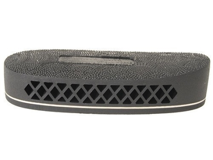 "Pachmayr F325 Deluxe Field Recoil Pad Grind to Fit 1.1"" Medium with White Line with Stippled Face Black"
