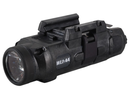 Insight Tech Gear WL1-AA Long Gun Tactical Illuminator Flashlight LED  Quick Release Rail Mount Black
