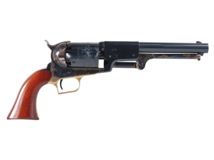 "Uberti 1848 Whitneyville Dragoon Steel Frame Black Powder Revolver 44 Caliber 7-1/2"" Blue Barrel"
