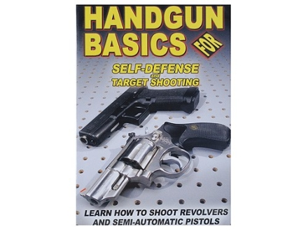 Gun Video &quot;Handgun Basics For Self-Defense and Target Shooting&quot; DVD