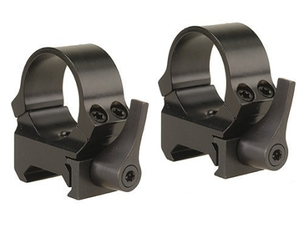 Leupold 1&quot; QRW Quick-Release Weaver-Style Rings Gloss Medium