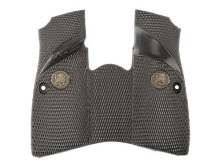 Pachmayr Signature Grips with Backstrap Browning Hi-Power Combat-Style Rubber Black