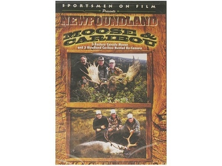 Sportsmen on Film Video &quot;Newfoundland Moose &amp; Caribou&quot; DVD