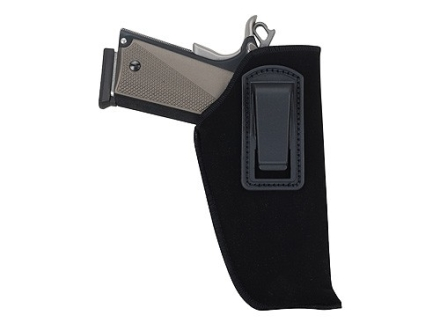 "BlackHawk Inside the Waistband Holster Right Hand Medium Double Action Revolver 4"" Barrel Ultra-Thin 4-Layer Laminate  Black"