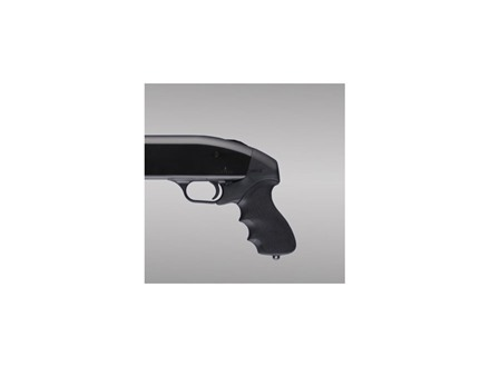 Hogue OverMolded Tamer Pistol Grip Mossberg 500 12 Gauge Rubber Black