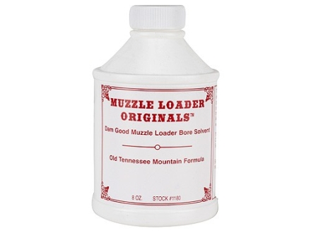Muzzle Loader Originals Dam Good Black Powder Bore Cleaning Solvent 8 oz Liquid