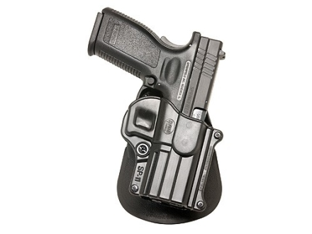 "Fobus Paddle Holster Right Hand H&K P2000, Springfield XD Service 4"", HS2000 9mm, 357, 40 Polymer Black"