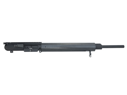 "DPMS LR-308 Light Hunter A3 Upper Assembly 338 Federal 1 in 9"" Twist 20"" Light Contour Barrel Stainless Steel Black with Carbon Fiber Free Float Handguard, Muzzle Brake"