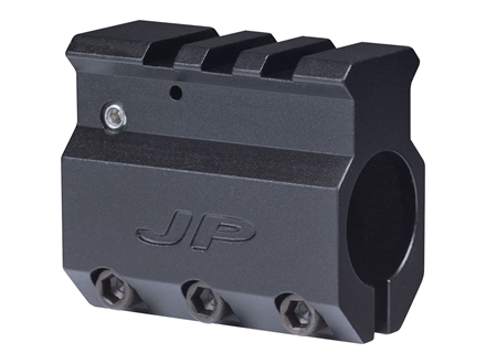JP Enterprises Adjustable Gas Block Picatinny Rail Sight Mounting AR-15, LR-308 Standard Barrel .750&quot; Inside Diameter Aluminum