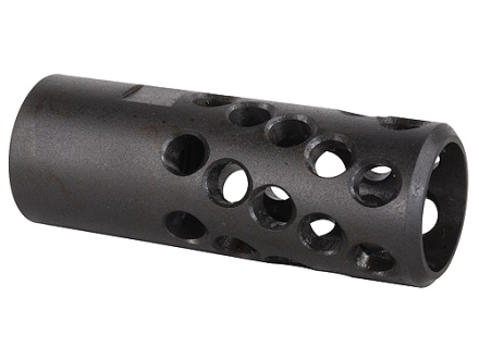 "AR-Stoner Heli-Port Muzzle Brake 0.765""-20 Thread AR-15 50 Caliber Parkerized"