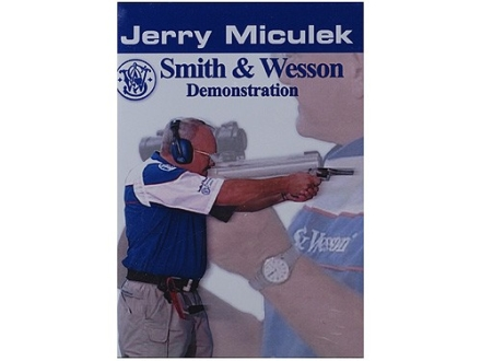 Gun Video &quot;Jerry Miculek: Smith &amp; Wesson Demonstration&quot; DVD