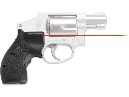 Crimson Trace Lasergrips S&amp;W J-Frame Round Butt Polymer