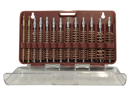 Tipton Bore Brush Set 14-Piece Rifle Bronze