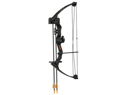 "Bear Brave 3 Youth Compound Bow Package Right Hand 15-20 lb. 15""-20"" Draw Length Black"