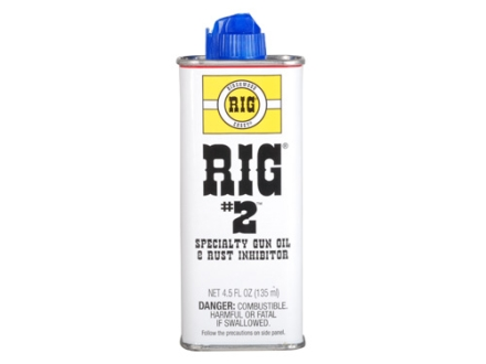 RIG #2 Gun Oil Lubricant & Protectant 4-1/2 oz Spout Can