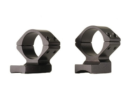 Talley Lightweight 2-Piece Scope Mounts with Integral 1&quot; Rings Browning Titanium Matte Medium