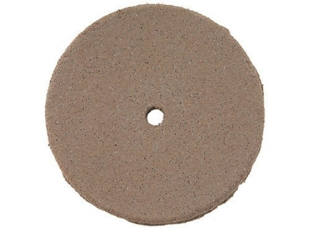 Cratex Abrasive Wheel Flat Edge 7/8&quot; Diameter 1/8&quot; Thick 1/16&quot; Arbor Hole Fine Bag of 20