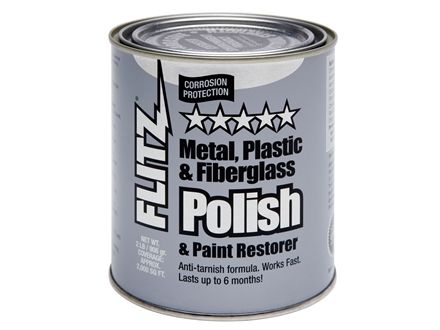 Flitz Paste Metal Polish 2 lb Can
