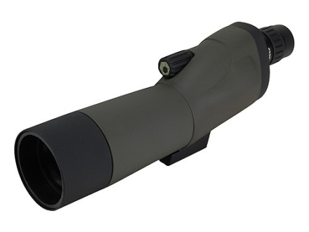 Barska Blackhawk Spotting Scope 18-36x 50mm Straight Body with Tripod and Soft Case Rubber Armored Green