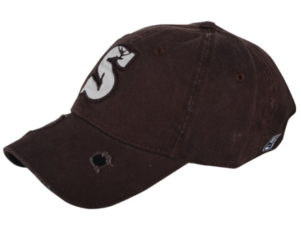 Summit Distressed Logo Cap Cotton Brown