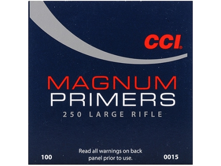CCI Large Rifle Magnum Primers #250 Case of 5000 (5 Boxes of 1000)