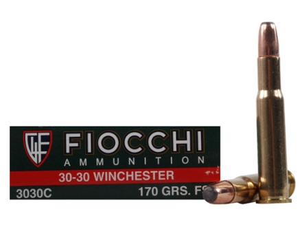 Fiocchi Shooting Dynamics Ammunition 30-30 Winchester 170 Grain Pointed Soft Point Box of 20