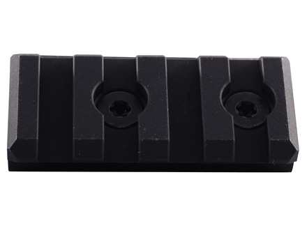 Noveske 4-Slot Keymod Customizable Rail Section for NSR Handguards AR-15 Aluminum Black