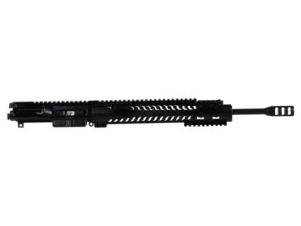 "Adams Arms AR-15 A3 Evo Ultra Lite Mid Length Gas Piston Upper Assembly 5.56x45mm NATO 1 in 7"" Twist 16"" Barrel Melonite Finish with 12"" Extended Free Float Modular Rail Handguard, Muzzle Brake"