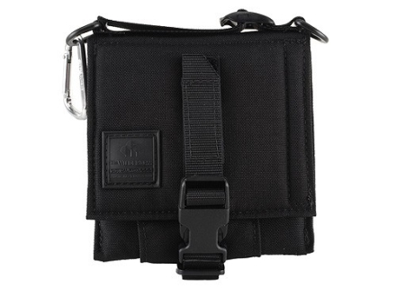 "Wilderness Tactical Safepacker Belt Holster Right Hand 7-3/8"" x 8-1/4"" Nylon Black"