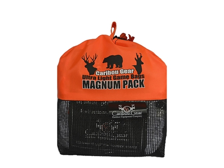 Caribou Gear Small Game Meat Bag Pack Synthetic Blend White