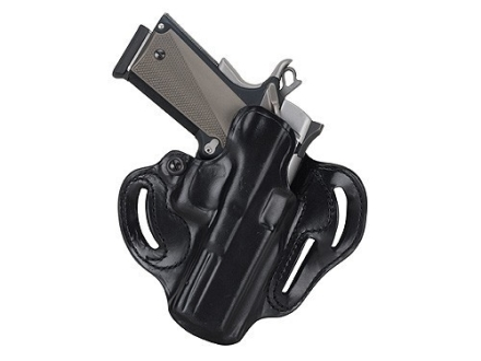 "DeSantis Speed Scabbard Belt Holster Right Hand Taurus Judge 3"" Barrel Leather Black"