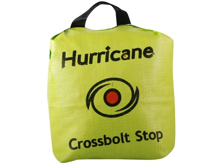Field Logic Hurricane Crossbolt Stop Bag Archery Target