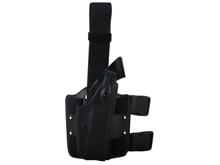 "Safariland 6004 SLS Tactical Drop Leg Holster Right Hand Springfield XD Tactical 5"" Polymer Black"