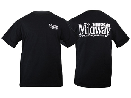 MidwayUSA T-Shirt Short Sleeve Cotton