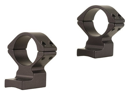 "Talley Lightweight 2-Piece Scope Mounts with Integral 1"" Rings Browning A-Bolt, Steyr Pro Hunter Matte High"