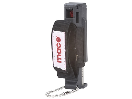 Mace Jogger Pepper Spray 18 Gram Aerosol Includes Hand Strap and Key Chain 10% OC Plus UV Dye Black