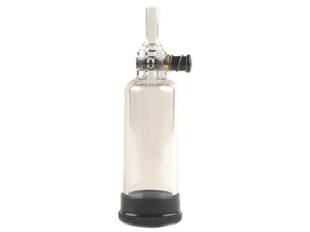 Thompson Center U-View Black Powder Flask Clear Polymer