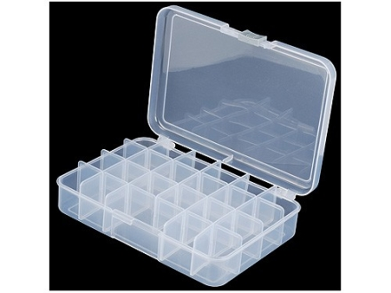 CED Storage Box Medium Polymer Clear