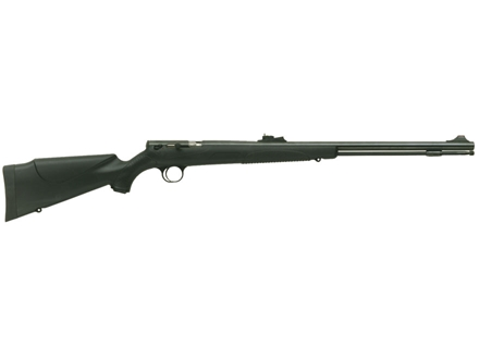 "CVA Buckhorn 209 Magnum Muzzleloading Rifle 50 Caliber Synthetic Stock Black 24"" Barrel Blue"