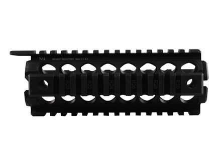 Midwest Industries 2-Piece Gen 2 Handguard Quad Rail AR-15 Aluminum
