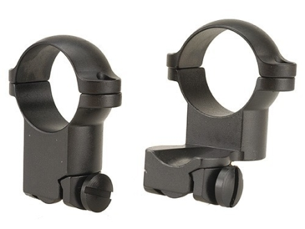 "Leupold 1"" Extended Ring Mounts Ruger #1, 77/22 Matte Super-High"