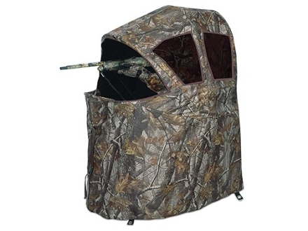 Ameristep One-Man Chair Ground Blind 34&quot; x 45&quot; x 54&quot; Polyester Realtree AP Camo