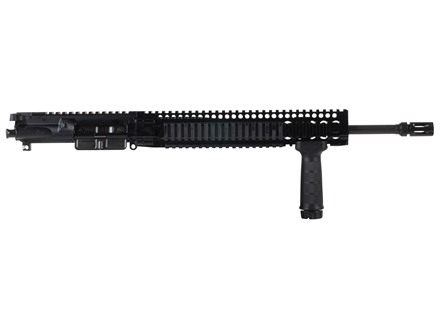 "Daniel Defense AR-15 DDM4v5 LW A3 Flat-Top Upper Assembly 5.56x45mm NATO 1 in 7"" Twist 16"" Light Barrel Chrome Lined CM with DDM4 12.0 Quad Rail Free Float Handguard, Flash Hider"
