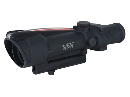 Trijicon ACOG TA11 BAC Rifle Scope 3.5x 35mm Dual-Illuminated Red Donut 223 Remington Reticle with AR-15 Carry Handle Base Matte